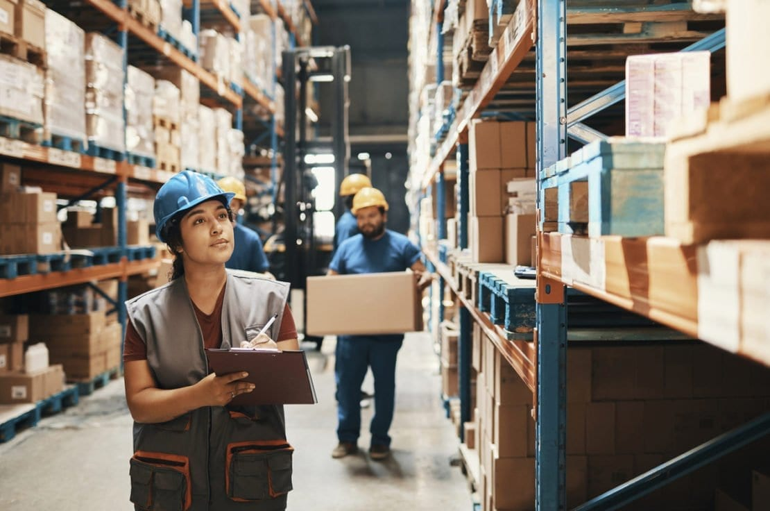 ERP software in warehouse logitics