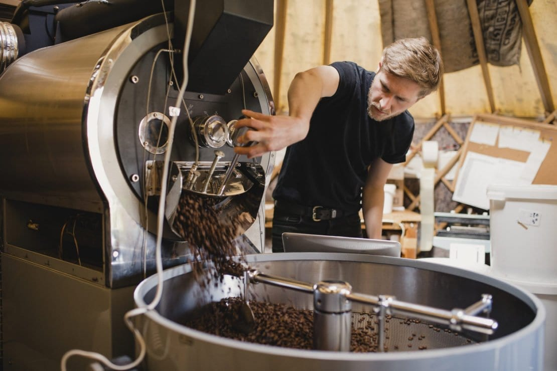 ERP for coffee businesses