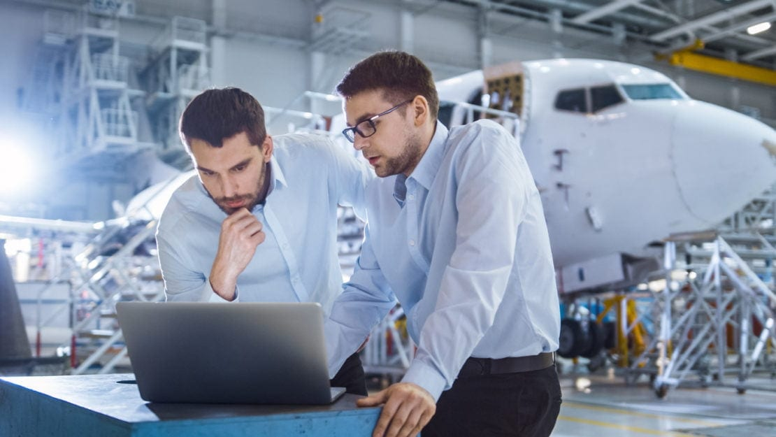 ERP in the aerospace industry